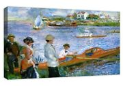 Rowers Of Chatou Auguste Renoir Buildable Canvas Frame Canvas Picture Print Wall
