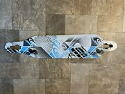 Rare Freebord Down Hill Skateboard Deck 110 Cm Dh Used Maple 7 Ply
