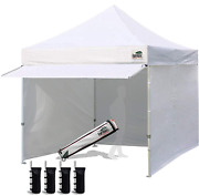 Eurmax 10 X 10 Pop Up Canopy Commercial Pop Up Canopy Tent Outdoor Party Canopie