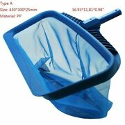 Professional Leaf Rake Swimming Pool Cleaning Nets Rubbish Skimmer Accessories
