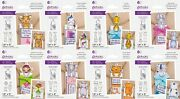 New 2021 Gemini Front And Back Character Gift Tag By Crafters Companion