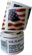 10 Rolls 2017 Usps Forever Flag Stamps First Class Rate Stamps Free Shiping