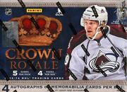 2013/14 Panini Crown Royale Hockey Hobby 12 Box Case Blowout Cards