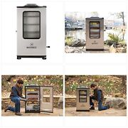 Masterbuilt Mb9 Bluetooth Digital Electric Smoker 40 Inch Stainless Steel