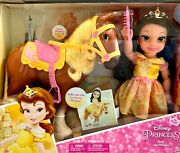 My First Disney Princess Belle And Philippe - 15 Toddler Doll And Horse