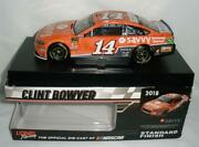 Clint Bowyer 14 Itsavvy 2018 Stewart Haas 1/24 Lionel Sample No Din Signed