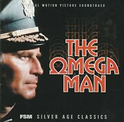 The Omega Man Soundtrack Ron Grainer Silver Age Classics Limited To 3000 Cd Rare