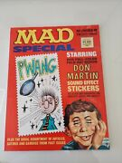 Mad Magazine Special Lot Of 23 24 27/ Stickers /bonus Insert/ Great Condition