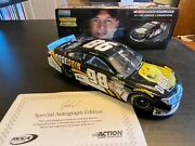 Nascar Josh Wise Dogecoin 98 Autographed 124 Diecast - 1 Of 200