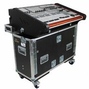 Prox- Xzf-bwing For Behringer Wing Console Flight Hard Travel Case Flip-ready...