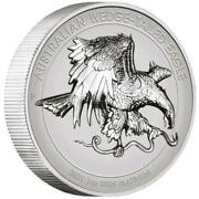 Australien - 100 Dollar 2021 - Wedge-tailed Eagle - High Relief - 1 Oz Platin Rp