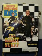 Sports Illustrated For Kids Magazine May/90 Tony Hawk Rookie Card Full Uncut Rc