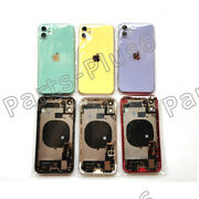 Iphone 11,11 Pro Max Replacement Back Housing Glass Battery Cover Frame Assembly