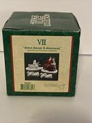 Department 56 - Vii 7 Seven Swans A-swimming 12 Days Of Dickensand039 Village 58383
