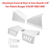 1/8 Front And Rear A-arm Guards For Polaris Ranger 570 Xp 900 Full Size 2013-2019