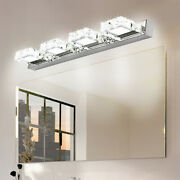 Modern Bathroom Led Crystal Mirror Front Make-up Wall Light Toilet Vanity Lamp A