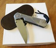 Chris Reeve New Small Sebenza 31 Unique Silver Contrast Graphic Knife/knives