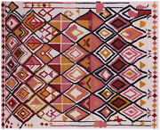 8and039 2 X 10and039 0 Moroccan Handmade Wool Rug - Q9271