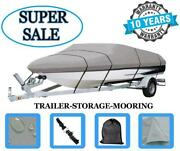 Durable Boat Cover For Bayliner 1700 Mutiny I/o 1992 Heavy-duty