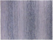 Savannah Grass Hand Knotted Wool Rug 9and039 1 X 12and039 0 - Q9232