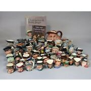 Royal Doulton Character Jugs - All Sizes And Names - Made In England Updated Reg