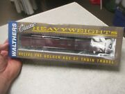 Ho Scale Walthers 932-10166 Soo Line Railroad Heavyweight Diner Passenger Car