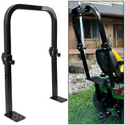 Foldable Falling Object Protection Structure For John Deere 2210 And 2305 Rops