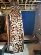 Asmat Papua Traditional West New Guinea Indonesian Shields Vintage102 1960s4