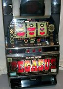 Authentic Japanese Pachislo Skill-stop Machine Slot Token In Excellent Cond.