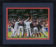Frmd Nationals Signed 16x20 2019 Ws Champs Celebration Photo And 16 Sigs - Le 219