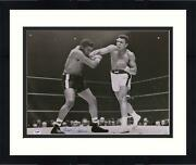 Frmd Muhammad Ali And Floyd Patterson Signed 16 X 20 First Bout Photo - Psa