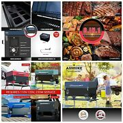 Asmoke As300 Electric Portable Wood Pellet Tailgating Tabletop Grill And Smoker
