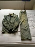 Nicole Farhi Menand039s Designer Jacket And Trousers - 2002 Collection Vintage - Xl
