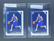 Investment Lot 2 2018 Panini Nba Hoops Luka Doncic Rc Nm-mt Or Better