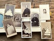 Historic Ausable Forks Keeseville Ny Civil War Cdv And Tin Album 50+ Photos Nyc