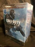 Call Of Duty Ghosts Hardened Edition Sony Ps3 2013 Sealed Collectors