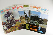 Narrow Gauge And Short Line Gazette Magazine - 1975 1st Year Complete 5 Issues