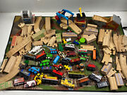 Wooden Thomas The Tank Train Huge Track Pieces Set Cars Lot