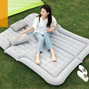Inflatable Air Bed Mattress Car Truck Suv Sleeping Seat Cushion With Pillow New