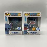 Funko Pop Disney Stitch With Record Player Funko Exclusives Chase And Non Chase