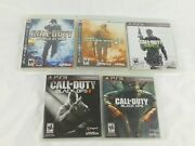 Call Of Duty Ps3 Games Cod World @ War Modern Warfare 2and3 Black Ops 1 And2 Vguc