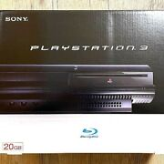 Sony Playstation 3 Ps3 Cechb00 20gb First Model Black Console Box New
