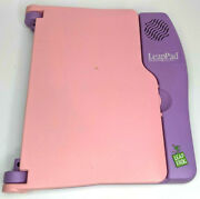 Leap Frog Leappad Electronic Learning System Console Only Pink And Purple