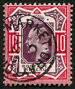10d Sg 2554 And039slate Purple And Deep Glossy Carmineand039 Superb Used And039market Drayto