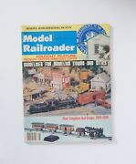 Model Railroader Magazine August 1977 Tinplate Heritage, Modeling Towns And Cities