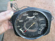 1930and039s-1940and039s Boat Dash Instrument Cluster Insert