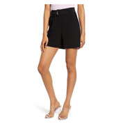 Leith Nordstrom High Waist Belted Shorts Plus Size 1x