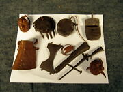 Marx Johnny West 12 Accessories Lot Best Of The West Custer Maddox Horse Indian