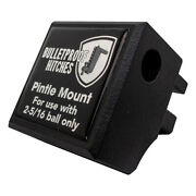 Bulletproof Hitches - Trailer Hitch Accessory - Pintle Attachment