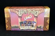 Harry Potter Uno Special Edition Card Game Trunk Used Excel. Cond. Vintage 2000